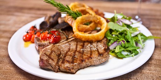 £29 -- Local Gem: 2-Course Steak Dinner inc Prosecco for 2