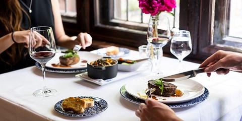 $99 -- 'Top Notch' Dinner for 2 at Carmen's Steak House