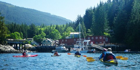 $325 -- Vancouver Island 2-Day Kayak Adventure, Reg. $550