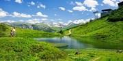 ab 940 € -- Oberstdorf: 6 Alpentage mit Radtour & Massage