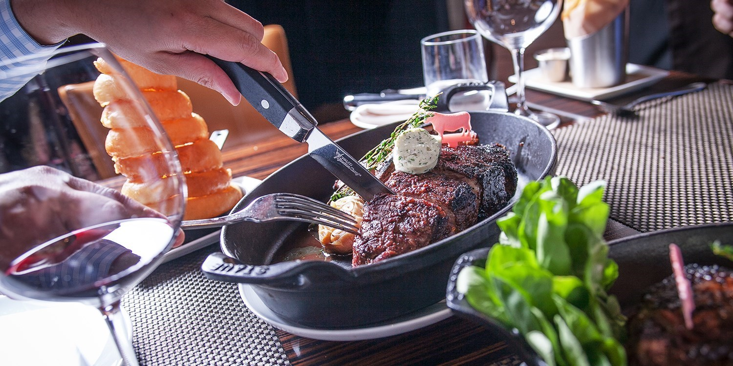 'Best Steakhouse' Dinner for 2 w/Drinks at BLT Steak: $115