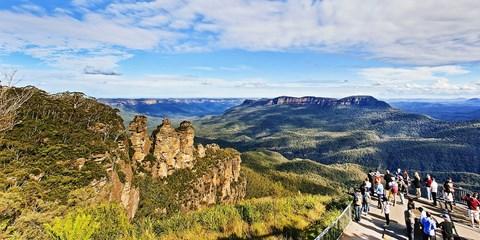 $1,598 起 -- 南半球過冬 澳洲悉尼藍山酒店 2 晚 細看絕美三姊妹峰