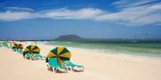 ab 305 € -- Fuerteventura: Sonnenwoche mit HP und Flug