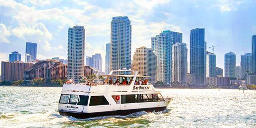 $15 -- Member Favorite Miami Sightseeing Cruise, 40% Off