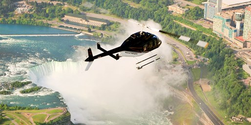 Fly Over Niagara Falls in a Helicopter: 2 People, 30% Off