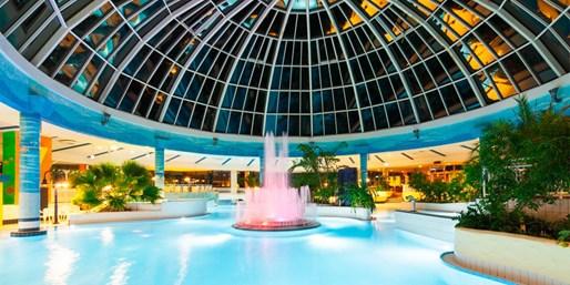 119 € -- Nagelneues Hotel im Taunus mit Menü & Therme, -36%