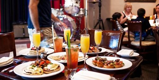 $25 -- Half Off Mimosa Jazz Brunch for 2 in Carlsbad