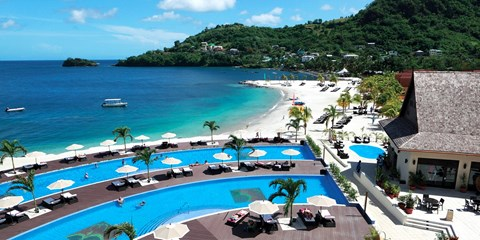 $1195 -- St. Vincent: 5-Night All-inclusive for 2, 70% Off