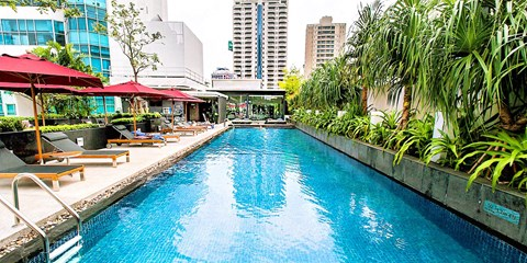 54€ -- Hôtel à Bangkok avec surclassement & boissons, -38%