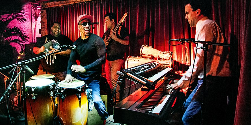 $49 -- Subrosa: Live Latin Music & Cocktails for 2, Half Off
