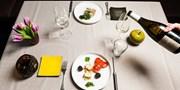 75 € -- Gourmetmenü im französichen Sternerestaurant