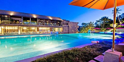 272 € -- Phuket: 4 Deluxe-Tage für 2 in der Hochsaison -41%