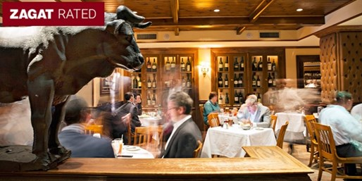 $115 -- Bobby Van's Steak Dinner for 2 w/Wine, 40% Off