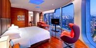 ¥1,688 -- 城会玩 型潮范!上海新天地安达仕 1 晚景观房 升 87 平超级大客房 享双早+双人日料晚餐