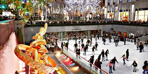 $49  -- Winter Ice Skating for 2 at Iconic Rockefeller Center