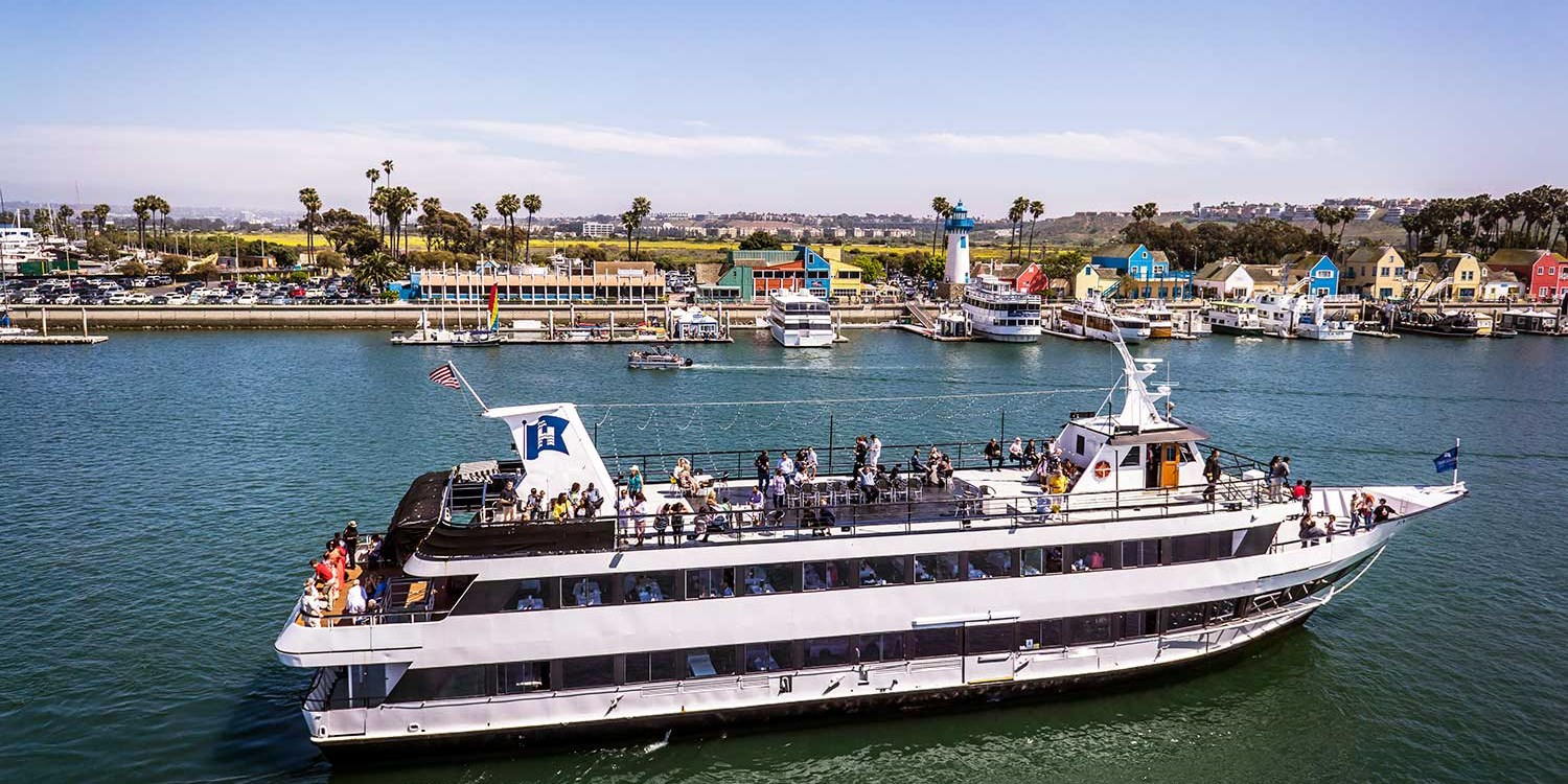 Marina del Rey Brunch or Dinner Cruise for 2 w/Harbor Views