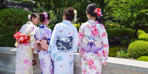 $55 -- Tokyo Authentic Kimono Dress-Up Experience in Asakusa