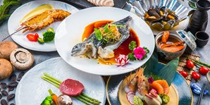 ¥596 -- 重磅归来!江畔橘钬餐厅双人铁板烧豪华套餐 品稀有海参斑 另有 ¥796 老饕宴可选