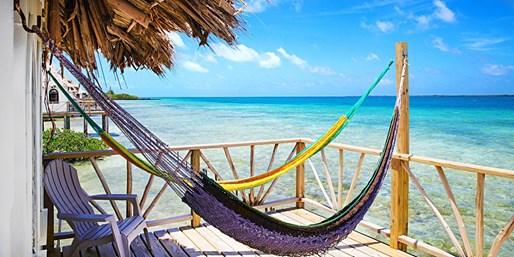 $99 -- Belize Private Island Resort: Overwater Villa