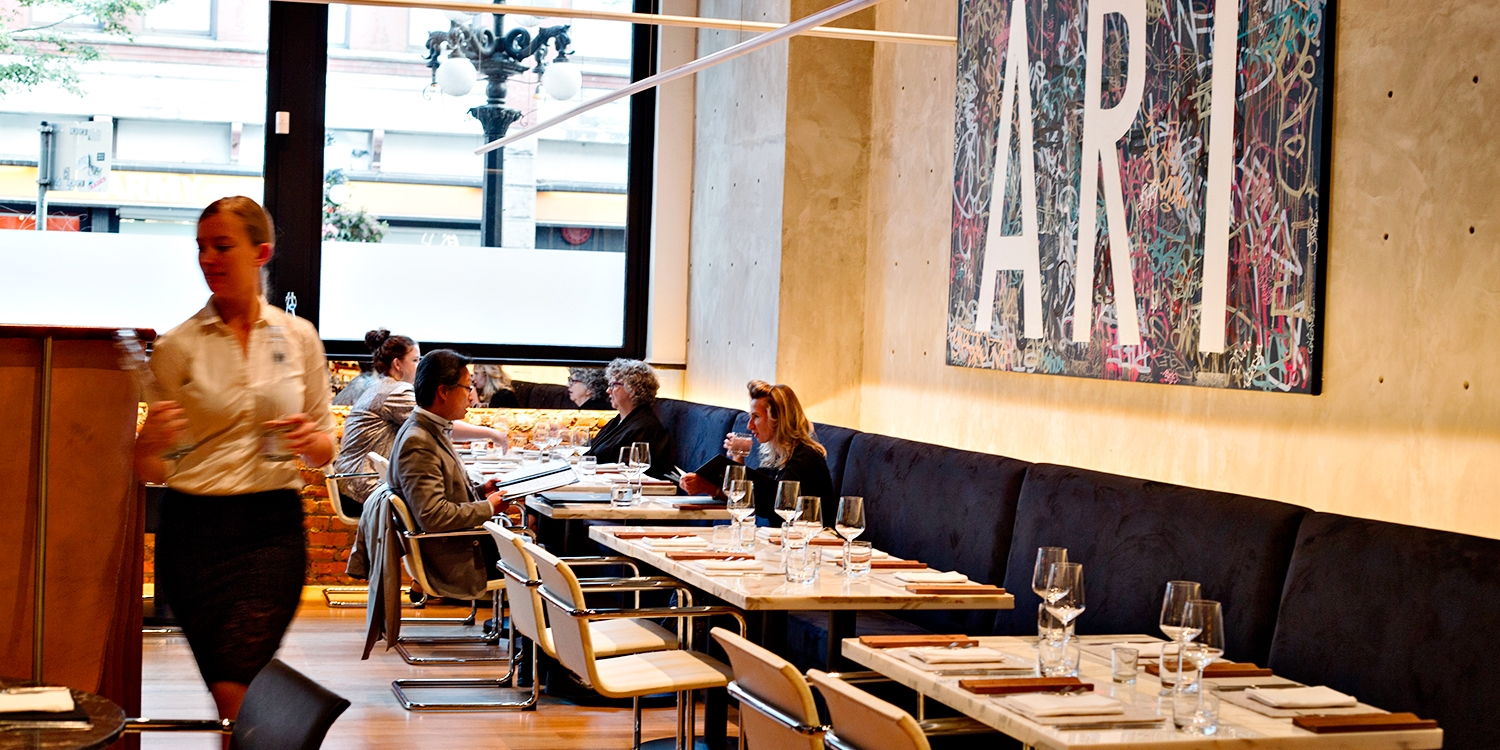 Bauhaus: 45% Off Michelin Star Chef Dinner for 2 in Gastown