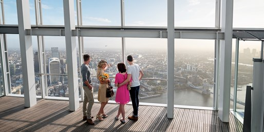 £20 -- The View from The Shard: Flexible Ticket, Save 22%