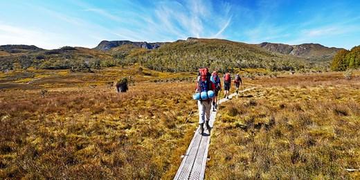 $1480 -- 5-Day Tasmania Wilderness Walk, Save $370