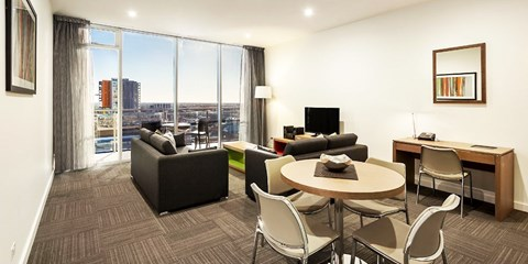 $119 -- Top 10 Luxe Apartments in Adelaide, up to 43% Off