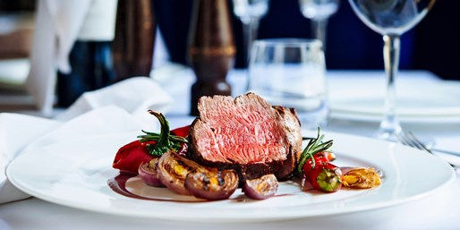 £42 -- Chateaubriand & Bubbly for 2 at Riverside Brasserie