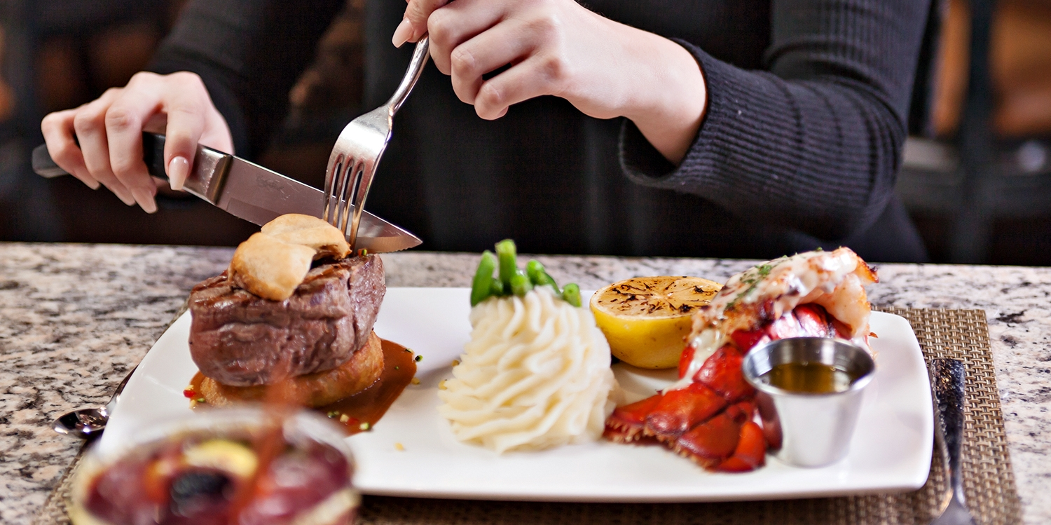 $75 Steak & Lobster Dinner for 2 that 'Exceeds Expectations'