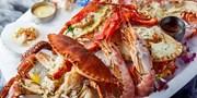 ¥498 -- 鲜活海鲜摆满桌!情怀洋房El Patio 西班牙海鲜双人餐 波龙、面包蟹、阿根廷红虾、招牌海鲜饭等