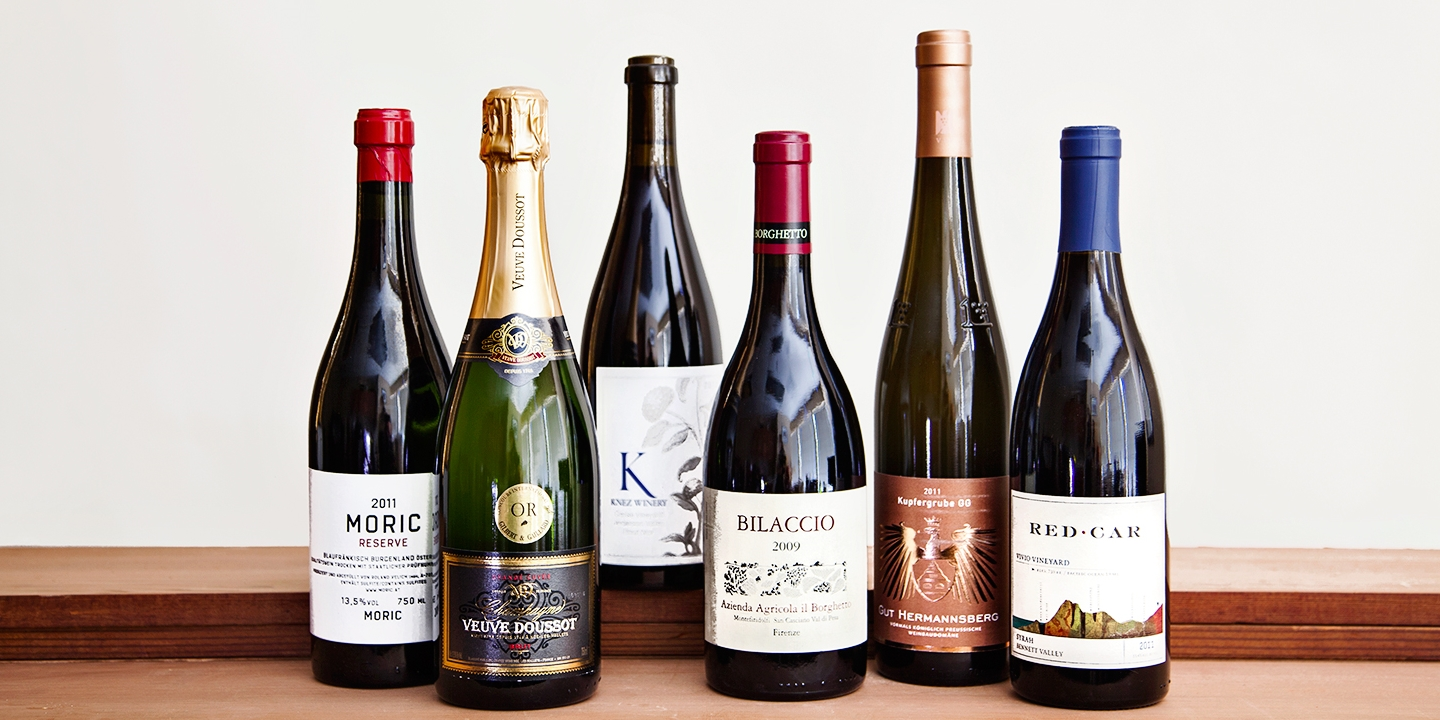 55% Off 6 Wines Curated by Michelin-Starred Chef + Shipping