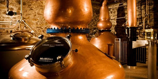 £12.50 -- Lake District: Distillery Tour for 2 inc Tastings