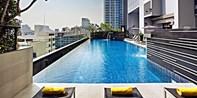 78 € -- Traumblick im 4*-Hotel in Bangkoks bester Ecke, -42%