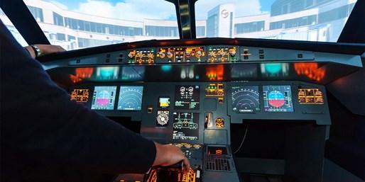 79 € -- Flugerlebnis im Boeing-Simulator in Mannheim, -58%