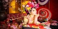 ¥833 -- 京都花魁摄影体验 含造型和服饰 定番花魁或洋装礼服可选 留下最靓倩影