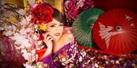 ¥1,178 -- 京都情侣花魁摄影体验 含造型和服饰 定番花魁或洋装礼服可选