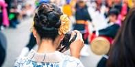 """¥148 -- 冲绳那霸市内""""琉裝撮影""""专门店单人20分钟和服体验 含简易发型设计"""