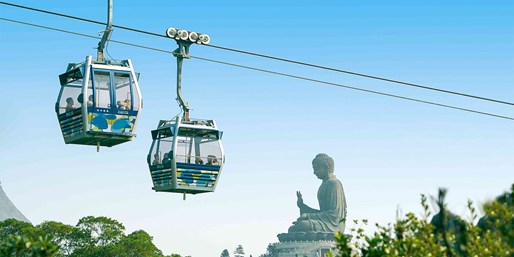 ¥375 -- 品味大屿山!乘昂坪360缆车欣赏天坛大佛+寺内斋菜等