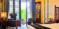【春节不加价】¥1,580 -- 老上海风情!古典精品酒店首席公馆豪华套房 / 阳台房1晚 双早+下午茶