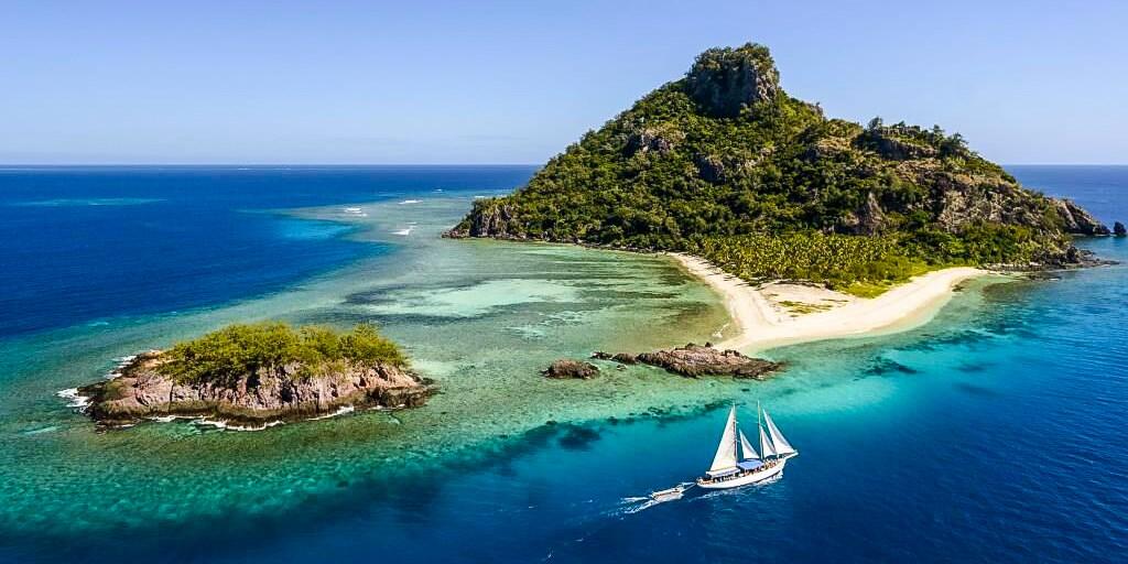 斐济金银岛一日游