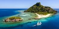¥760 -- 斐济金银岛一日游 午餐+浮潜+水上设备租赁+南迪/迪那桡接送