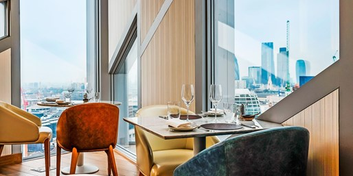 £28 – London: 3 Courses & Prosecco with 'Spectacular Views'