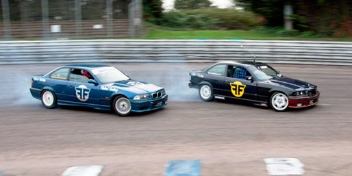 £69 -- Brands Hatch 3-Hour Drift Car Driving Course, 65% Off