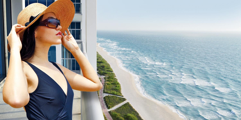$135 -- Spa & Wellness Day w/Rooftop Pool & Ocean Views