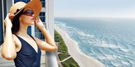 $135 -- Spa & Wellness Day w/Rooftop Pool & Ocean Views