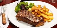 34 € -- Steak-Genuss für 2 & Espresso in der Münzgasse, -36%