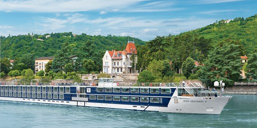 $899 -- Europe River Cruises w/Drinks & Tours, Save 50%