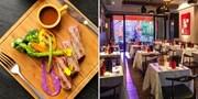¥428 -- 纯正法式料理!静安寺 La Bistronomie 双人法餐 法国主厨特烹和牛牛排!