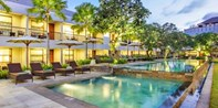 $249 -- Bali: 3 Nights at Top Seminyak Hotel for 2, 51% Off