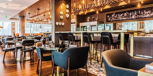 £25 -- Celeb Chef Restaurant: 2-Course Meal for 2, Save 63%